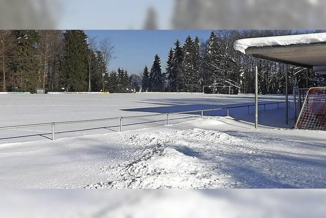 Neuer Trainingsplatz für FC Bergalingen