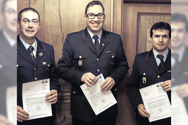 Spannende Jahre für die Feuerwehr