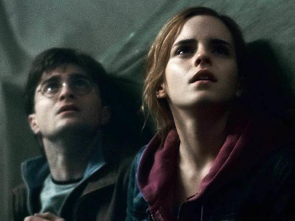 Besonders viel Stoff für Fanfiction li...die Welt von Harry, Hermine & Ron.  | Foto: WARNER