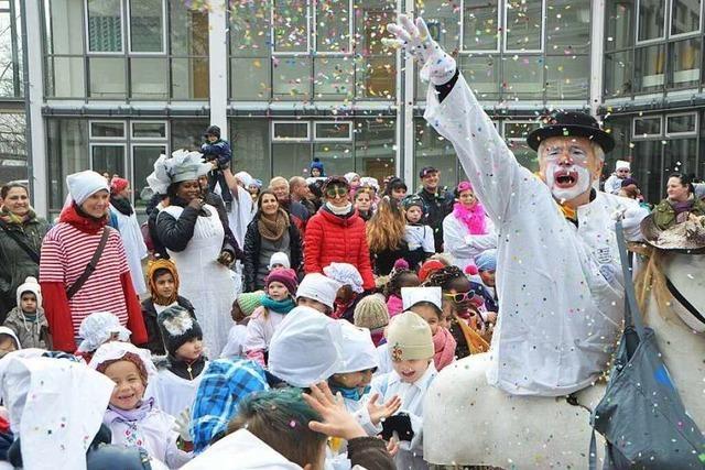 Fotos: Rathaussturm der Kindergärten