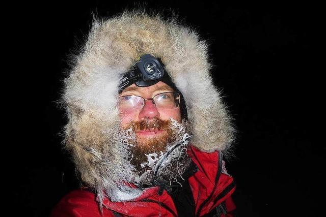 Aus nach 160 Kilometern durch Schnee und Eis