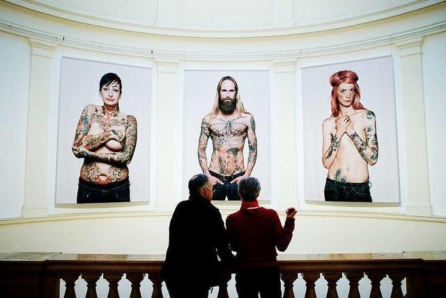 Ausstellung in Hamburg zeigt Tattoos