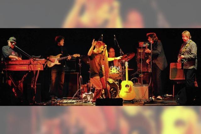 The G-Men spielen in der Wodanhalle in Freiburg