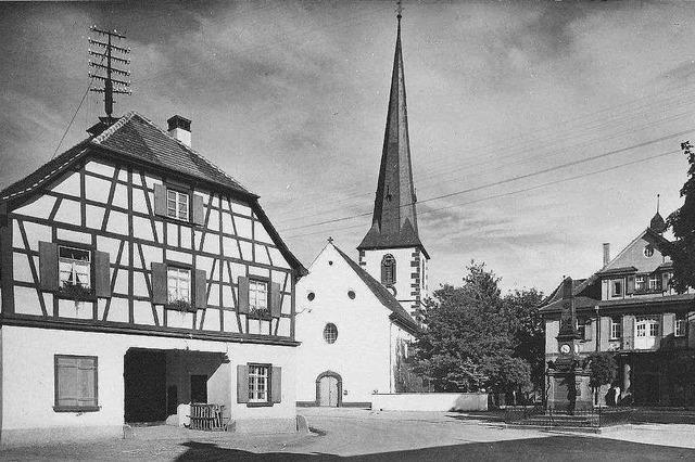 Die Ottenheimer Kirche soll wieder einen richtigen Turm bekommen