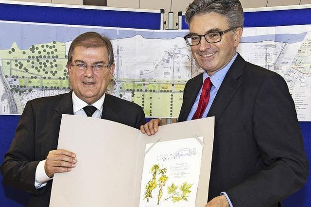 Freiburgs OB wird Botschafter für die Landesgartenschau 2022