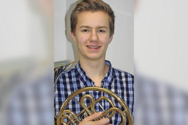Görwihler Hornist ist der Beste