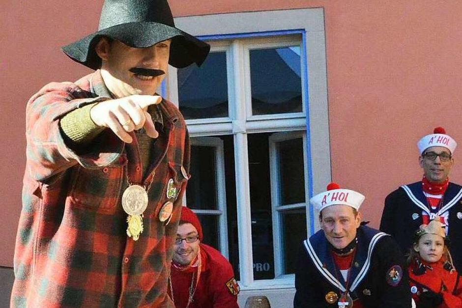 Die Fasnet in Kirchzarten ist bunt und lebendig. (Foto: Markus Donner)
