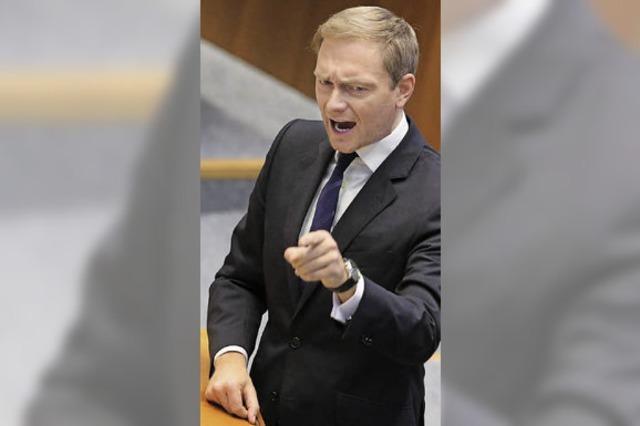 FDP-Parteichef Lindner stilisiert sich als mutiger Unternehmer – doch wie viel Wagnis war dabei?
