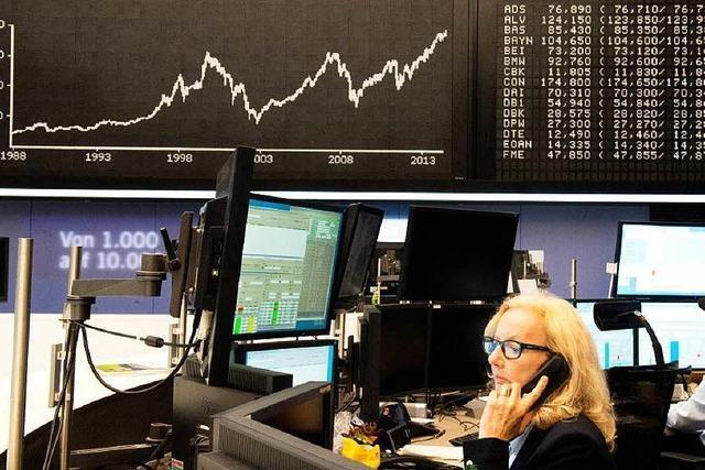 Die Börse ist im Hoch, aber kaum einer will Aktien