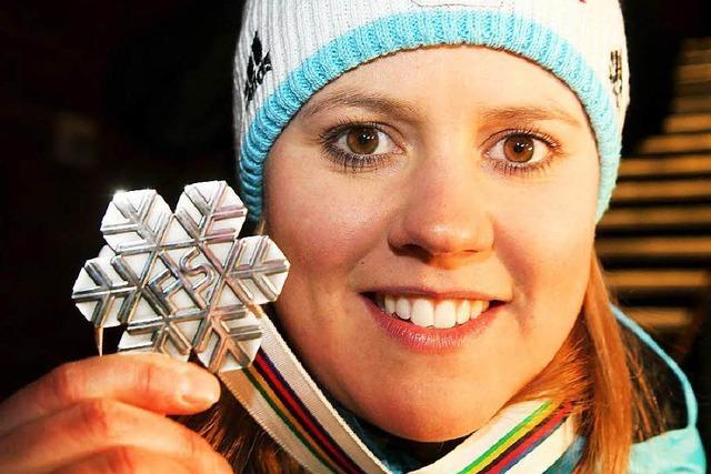 Aufholjagd: Viktoria Rebensburg holt WM-Silber im Riesenslalom