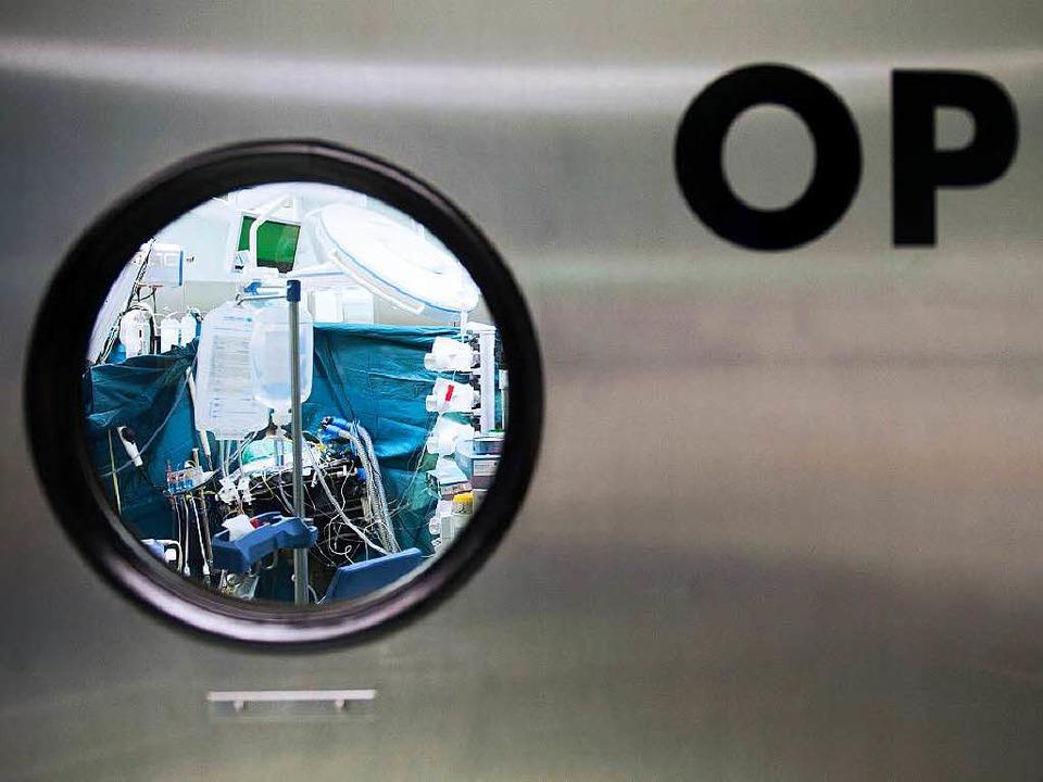 Horte gefährlicher Keime? Deutsche Krankenhäuser stehen  in der Kritik.   | Foto: dpa/BZ