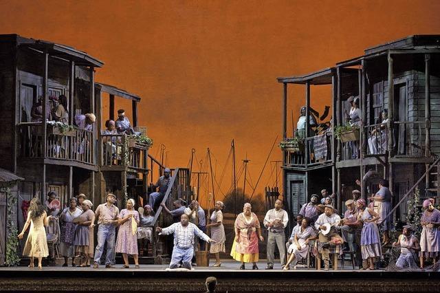 Das New York Harlem Theater führt Porgy and Bess in Straßburg auf
