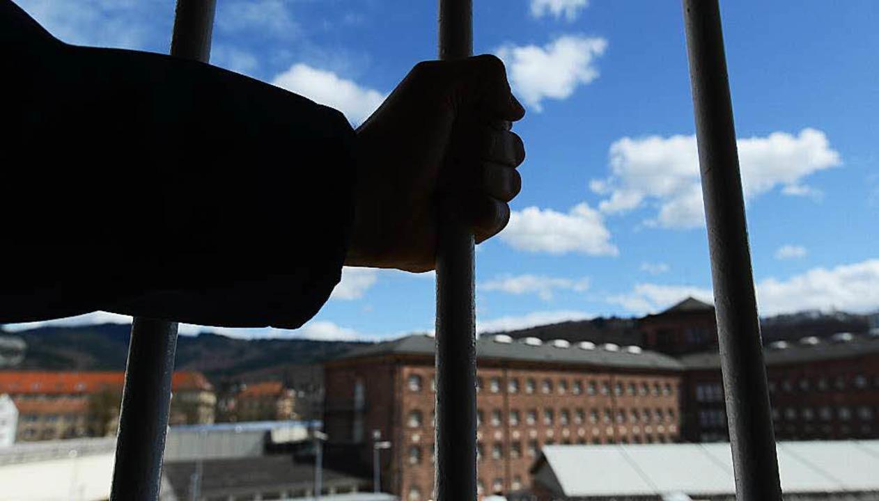 Im Gefängnis in Freiburg.    Foto: dpa