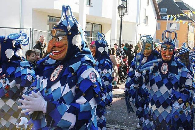 Fotos: Fasnet-Umzug 2015 in Bad Krozingen