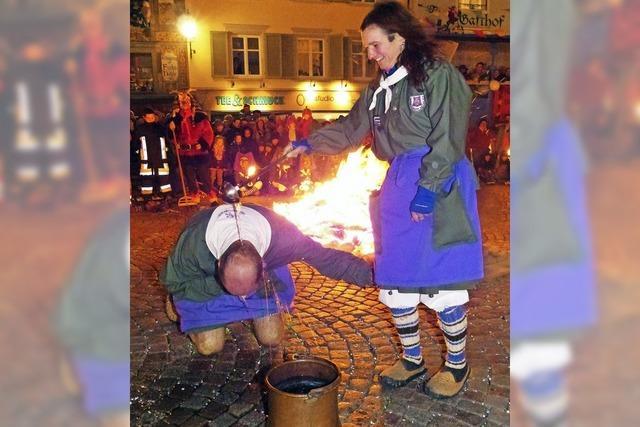 Wilde Sprünge durchs Feuer