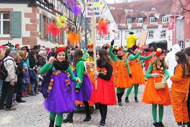 Fotos: Die Umzüge in Riegel und Sasbach