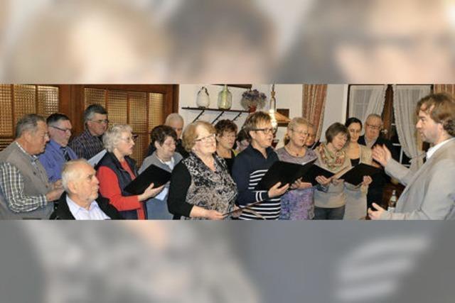 Der Blansinger Gesangverein von 1854 singt nicht mehr