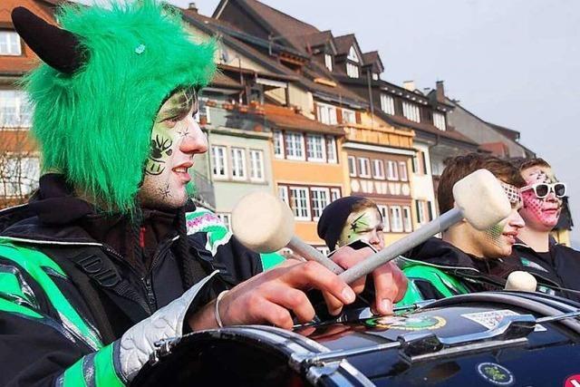 Fotos: Fasnachtsumzug in Laufenburg