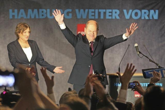 Wahlsieger Olaf Scholz ist gerührt von der hohen Zustimmung