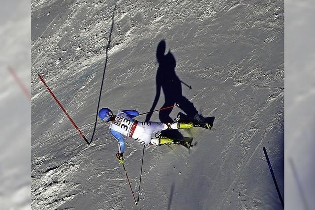 Lichtblick im Slalom