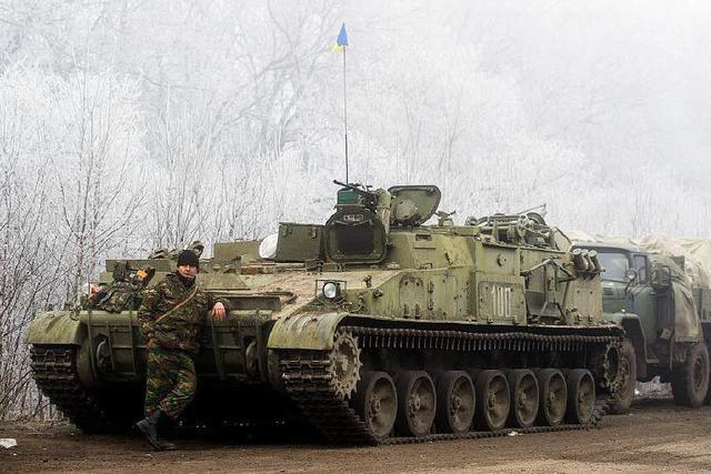 Die Lage in der Ostukraine ist noch angespannt