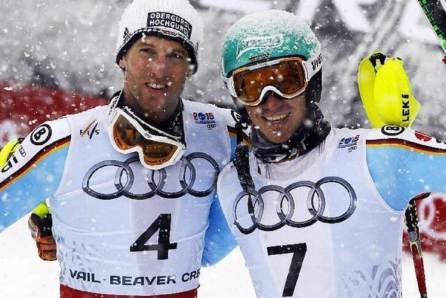Dopfer und Neureuther mit Silber und Bronze im Slalom