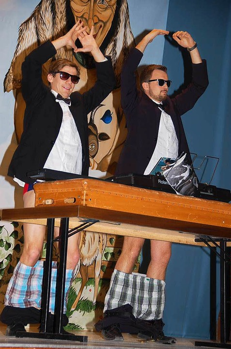 So spielen Wiizemer Jungnarren Klavier!  | Foto: Jutta Binner-Schwarz