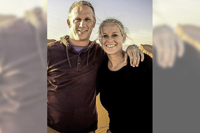 Jeanette und Christian Grimm berichten in Riegel über ihre Weltreise