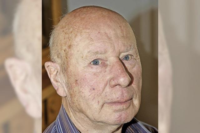 Johann Crocoll 80 Jahre alt