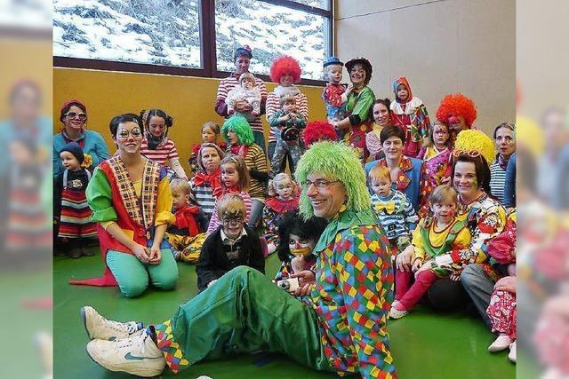Wow! So viele Clowns!