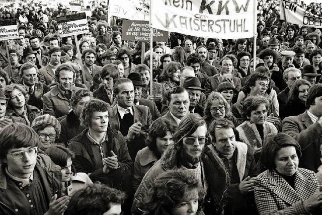 40 Jahre Widerstand gegen das AKW Wyhl im Freiburger Vorderhaus