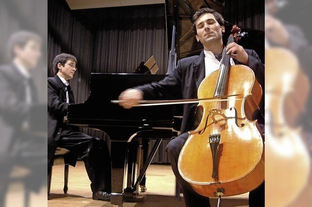 Duo Kostov/Valkov bei den Säckinger Kammermusik-Abenden
