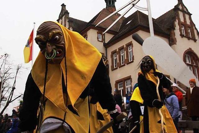Fotos: Umzug der Welschkorngeister in Denzlingen