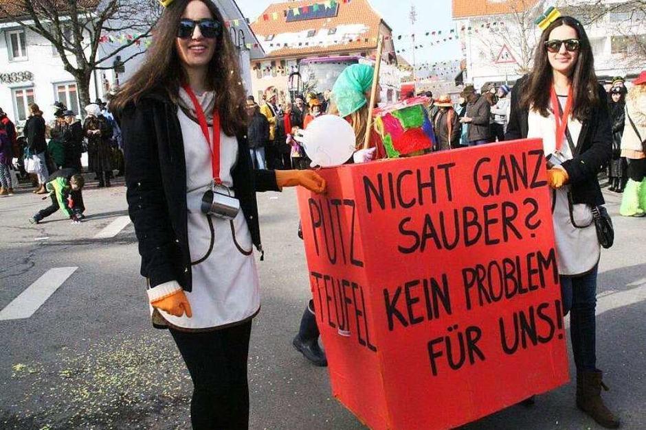 Umzug in Görwihl