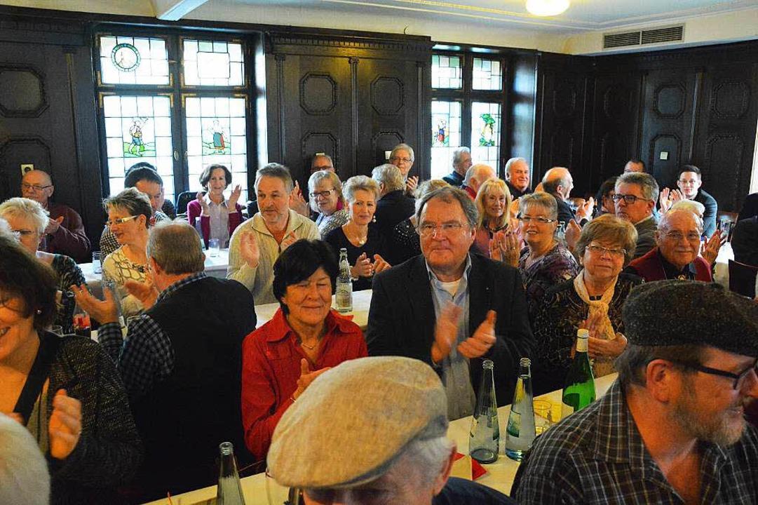 Rastsuppe 2015 im Lasser-Saal  | Foto: Barbara Ruda