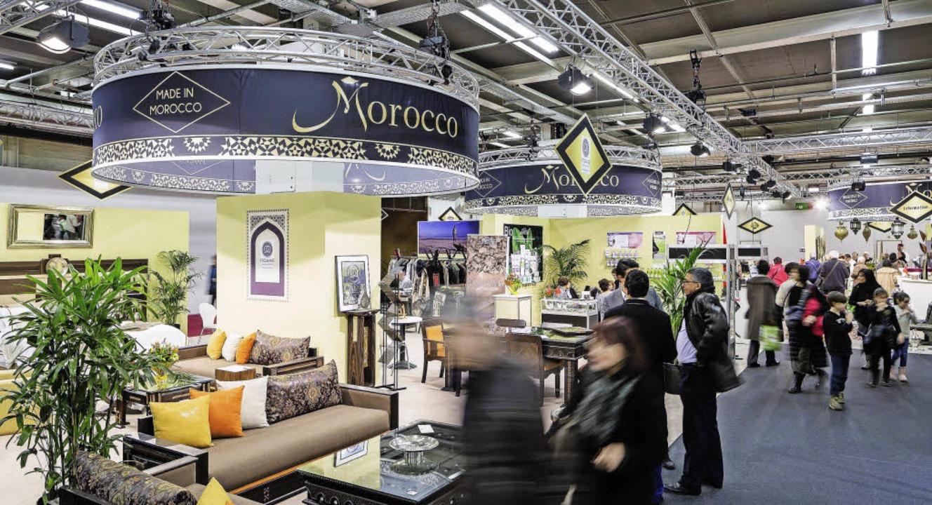 Marokko war das Gastland an der Muba 2...gabend in Basel  zu Ende gegangen ist.    Foto: ZVG