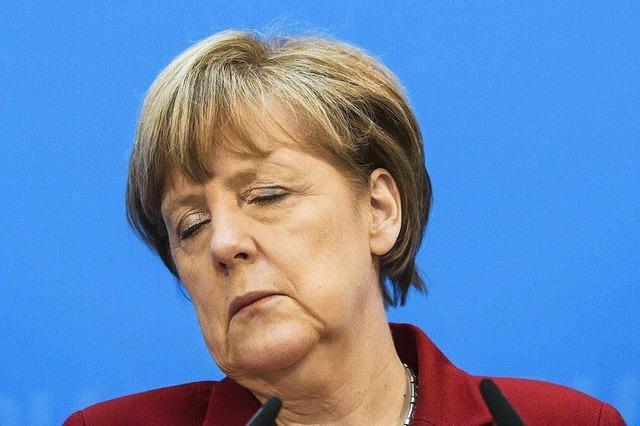 Merkel will nicht über Kurswechsel diskutieren