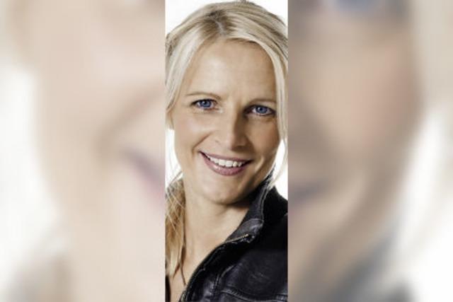 Barbara Ruscher im Bürgersaal Rheinfelden