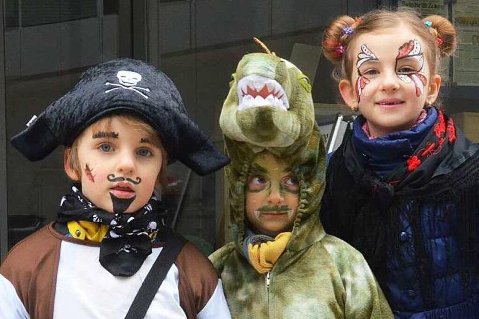 Impressionen vom Kinderumzug (Foto: Martina Proprenter)