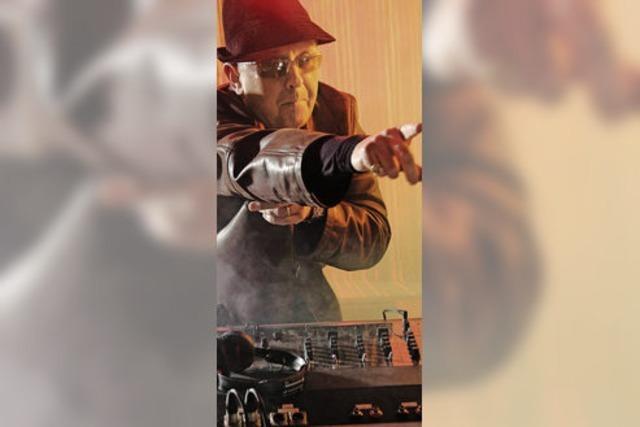 Reggae-DJ Sir David Rodigan im Volkshaus Basel