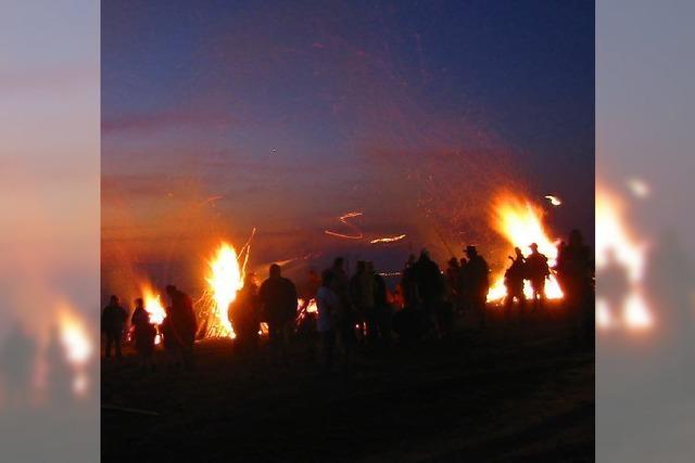 Scheibenfeuer lodern wieder