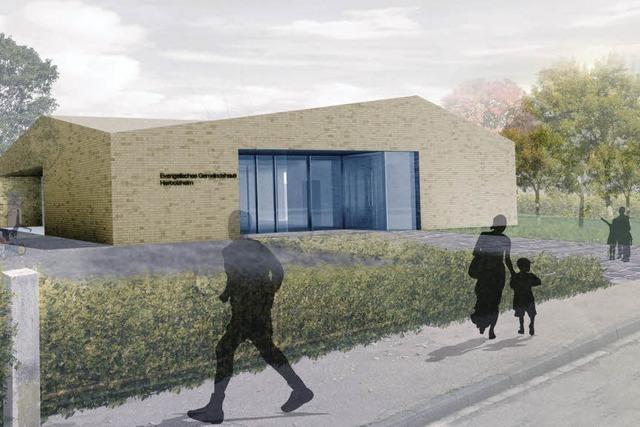 Pläne für Gemeindehaus vorgestellt - Kosten von 1,1 Millionen Euro