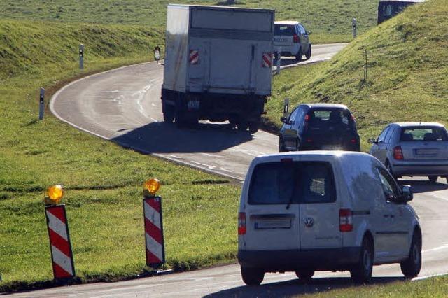 Sanierung der Kreisstraßen - die Schlaglöcher sollen weg