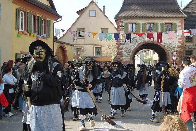 """Wenn die Fasnet in Freiburg am Aschermittwoch endet, geht die """"Buurefasnet"""