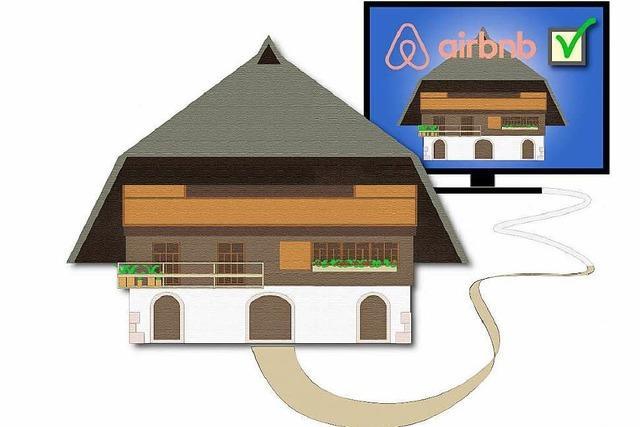 Internetportal Airbnb: Ferienwohnungen aus dem Schwarzwald kaum vertreten