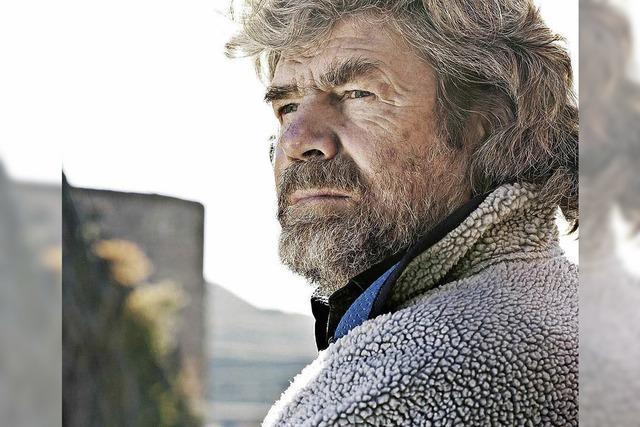Reinhold Messner in der Stadthalle Haslach