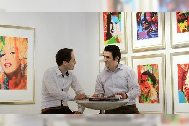 Kunsthändler eröffnen