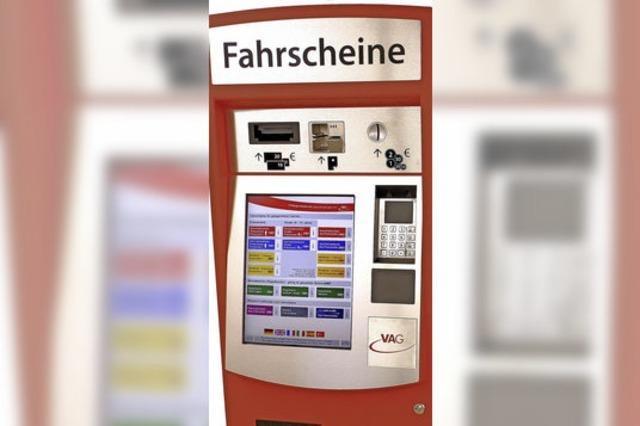 VAG startet Testbetrieb mit neuen Ticketautomaten in den Trams