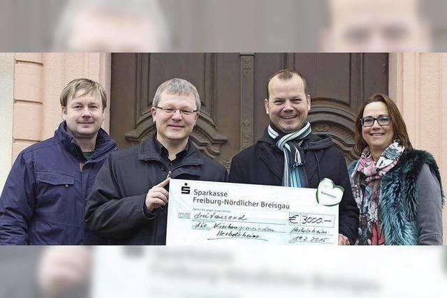 3000 Euro für die Kirchengemeinden