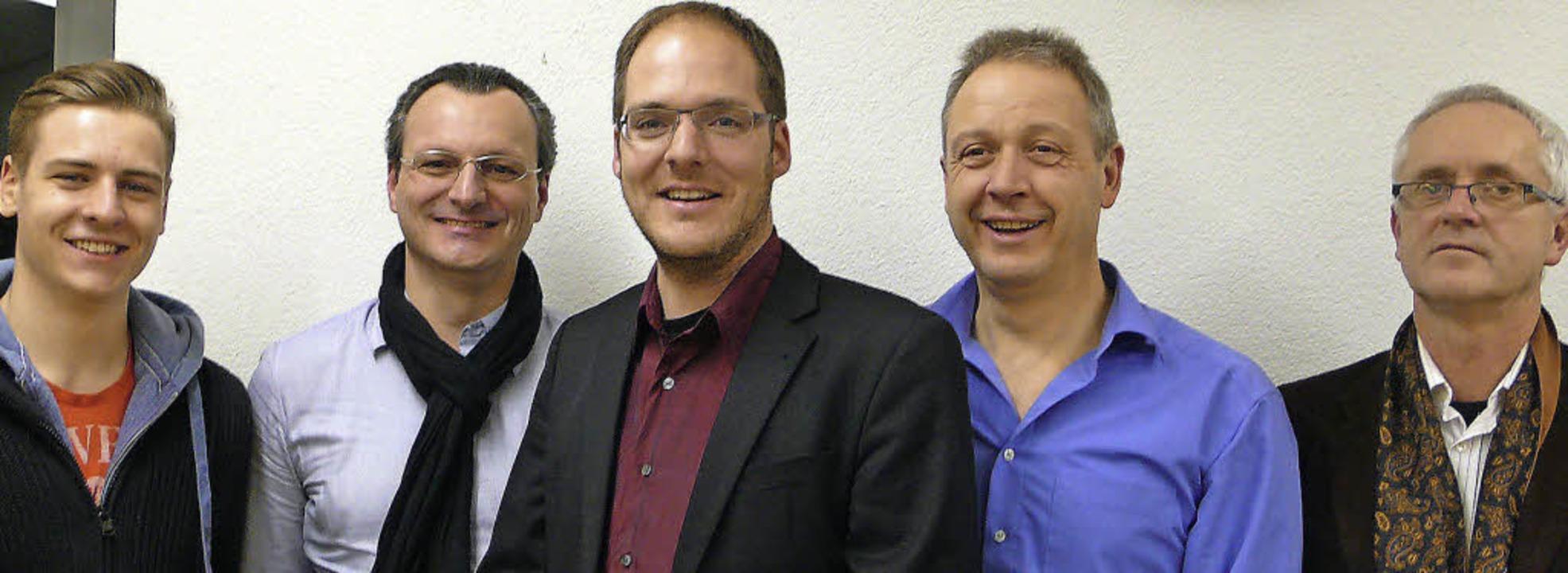 Die neuen und die bisherigen Vorsitzen... Barth und Bernd Fürstos (von links).   | Foto: Privat
